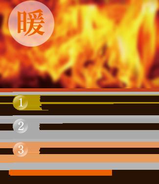 暖房人気ベスト3